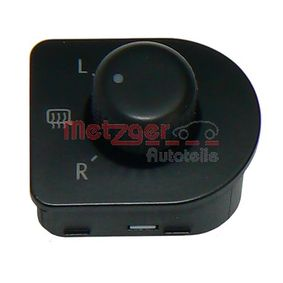 buy METZGER Switch, mirror adjustment 0916071 at any time