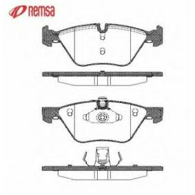 Brake Pad Set, disc brake 1052.00 for BMW X1 at a discount — buy now!
