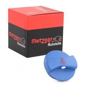 METZGER Verschlußdeckel, Kühlmittelbehälter 2140037 Günstig mit Garantie kaufen