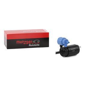 Pompa acqua lavaggio, Tergicristallo METZGER 2220002 comprare e sostituisci