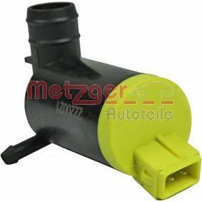 Bomba de água do lava-vidros 2220021 com uma excecional METZGER relação preço-desempenho