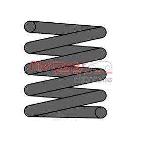 Ressort de suspension 2241182 METZGER Paiement sécurisé — seulement des pièces neuves