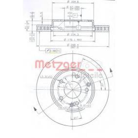 Bromsskiva 24903 V för MERCEDES-BENZ låga priser - Handla nu!