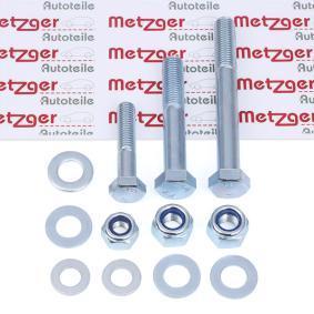 Kit montaggio, Braccio oscillante 55000518 con un ottimo rapporto METZGER qualità/prezzo