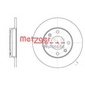 Bremsscheibe von METZGER - Artikelnummer: 6130.00