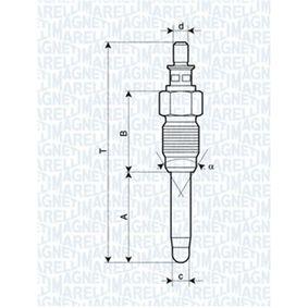 żeraviaca sviečka 062900059304 pre FORD nízke ceny - Nakupujte teraz!