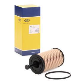 Filtro de óleo 152071758800 com uma excecional MAGNETI MARELLI relação preço-desempenho
