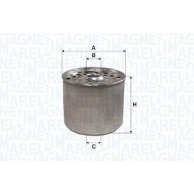 ostke ja asendage Kütusefilter MAGNETI MARELLI 152071760791