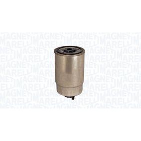 ostke ja asendage Kütusefilter MAGNETI MARELLI 153071760110