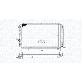 Radiatore, Raffreddamento motore 350213706000 con un ottimo rapporto MAGNETI MARELLI qualità/prezzo