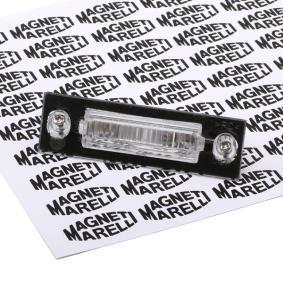 compre MAGNETI MARELLI Luz de chapa de matrícula 714044660601 a qualquer hora