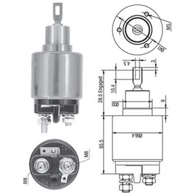 MAGNETI MARELLI Elettromagnete, Motore d'avviamento 940113050322 acquista online 24/7