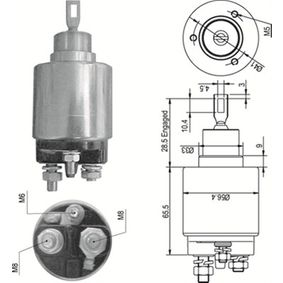 compre MAGNETI MARELLI Interruptor electromagnético, motor de arranque 940113050348 a qualquer hora
