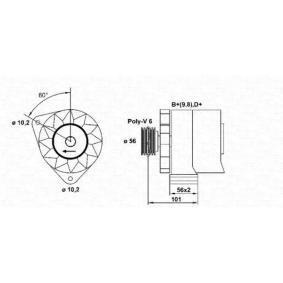 MAGNETI MARELLI генератор 943356621010 купете онлайн денонощно