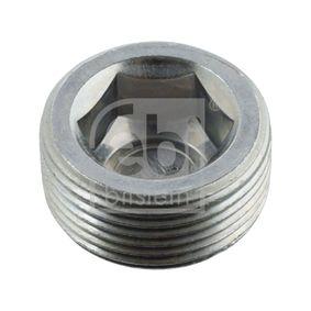 Order 04516 FEBI BILSTEIN Screw Plug, axle drive now
