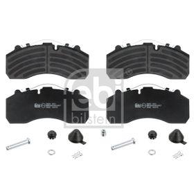 Buy FEBI BILSTEIN Brake Pad Set, disc brake 16665