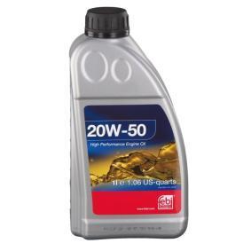Olej silnikowy 32921 FEBI BILSTEIN Bezpieczna opłata — tylko nowe części zamienne