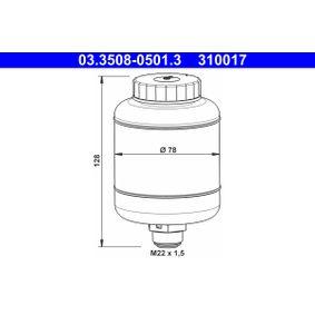 kúpte si ATE Vyrovnávacia nádobka na brzdovú kvapalinu 03.3508-0501.3 kedykoľvek