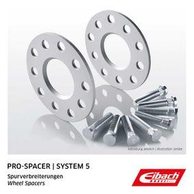 kúpte si EIBACH Zväčżenie / rozżírenie rozchodu S90-5-05-033 kedykoľvek