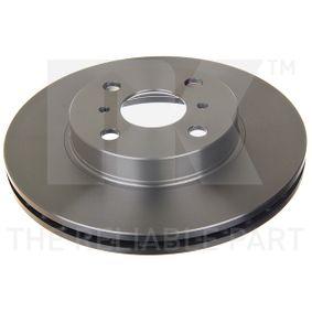 Disco de travão 204543 NK Pagamento seguro — apenas peças novas