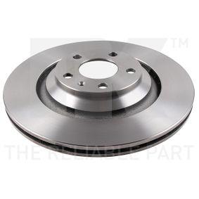 спирачен диск NK 2047110 купете и заменете
