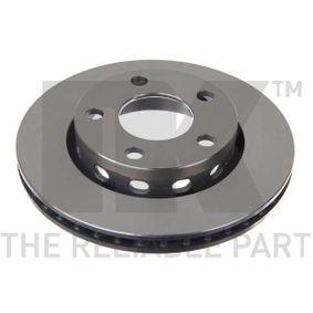 Disco de travão 2047131 NK Pagamento seguro — apenas peças novas