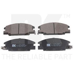 NK комплект спирачно феродо, дискови спирачки 221405 купете онлайн денонощно