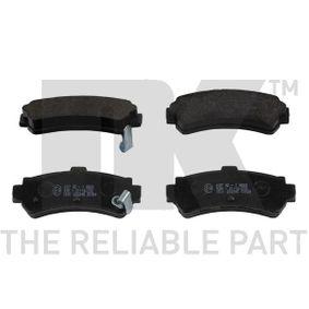 kúpte si NK Sada brzdových platničiek kotúčovej brzdy 222245 kedykoľvek