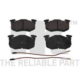 kúpte si NK Sada brzdových platničiek kotúčovej brzdy 223930 kedykoľvek