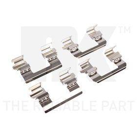 Kit accessori, Pastiglia freno NK 79221736 comprare e sostituisci
