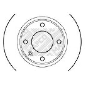 Disque de frein 15307 MAPCO Paiement sécurisé — seulement des pièces neuves