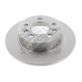 Disco de travão 25100 MAPCO Pagamento seguro — apenas peças novas