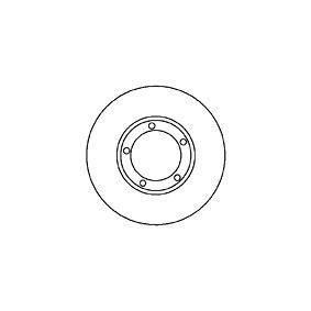 Disque de frein 25512 MAPCO Paiement sécurisé — seulement des pièces neuves