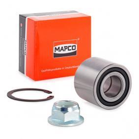 Kit cuscinetto ruota 26106 con un ottimo rapporto MAPCO qualità/prezzo
