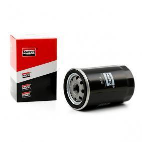 Filtro de óleo 61097 com uma excecional MAPCO relação preço-desempenho