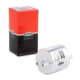 palivovy filtr 62850 s vynikajícím poměrem mezi cenou a MAPCO kvalitou