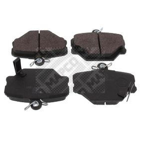 buy and replace Brake Pad Set, disc brake MAPCO 6521