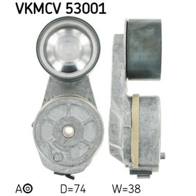 Kup SKF Rolka napinacza, pasek klinowy wielorowkowy VKMCV 53001