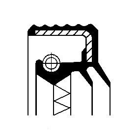 köp CORTECO Oljetätningsring, differential 12016928B när du vill