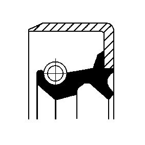 CORTECO tömítőgyűrű, kerékagy 12017297B - vásároljon bármikor