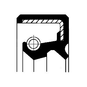 kupite CORTECO Radialna tesnilka za gred, razdelilno gonilo 19035375B kadarkoli