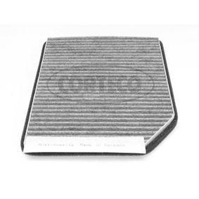 Filter, kupéventilation 80000434 för RENAULT låga priser - Handla nu!