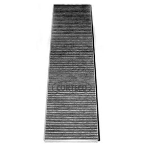 филтър, въздух за вътрешно пространство CORTECO 80001181 на ниска цена — купете сега!