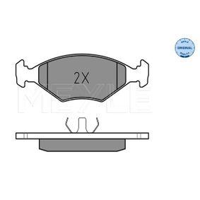 Kit pastiglie freno, Freno a disco 025 211 9318 per VW GOL a prezzo basso — acquista ora!