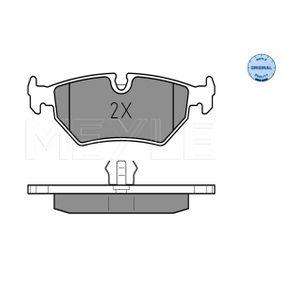 Brake Pad Set, disc brake 025 212 7517 for JAGUAR cheap prices - Shop Now!