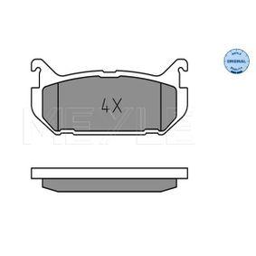 Brake Pad Set, disc brake 025 217 6614 for MAZDA cheap prices - Shop Now!