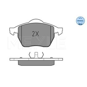 комплект спирачно феродо, дискови спирачки 025 218 4819 с добро MEYLE съотношение цена-качество