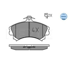 Brake Pad Set, disc brake 025 219 2015 for VOLVO S40 at a discount — buy now!