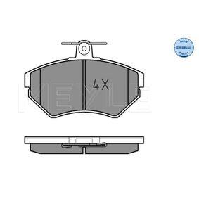 Jeu de plaquettes de frein, frein à disque 025 219 4516 pour VW petits prix - Achetez tout de suite!