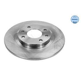 Brake Disc 11-15 521 0001 for CITROËN cheap prices - Shop Now!